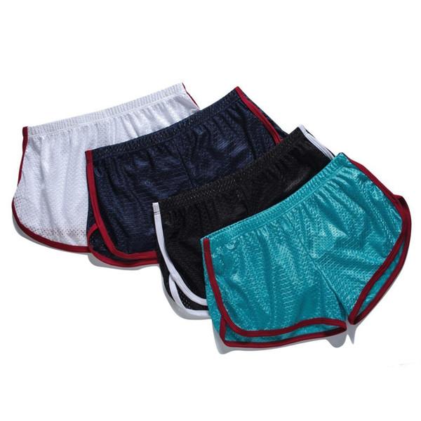 2019 Men Underwear Boxers Colorful Loose Shorts Men's Panties Big Short Breathable Flexible Shorts Boxers Home Underpants Best Sell