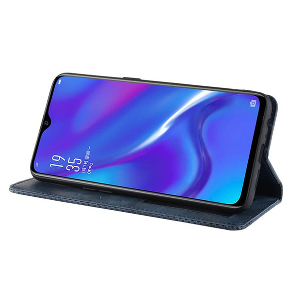 Flip Cover For OPPO RX17 Neo Case Wallet Card Stand Magnetic Book Cover For OPPO RX17 Neo CPH1893 OPPO RX 17 RX17Neo Phone Cases
