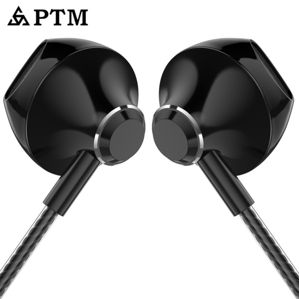 Ptm D31 Fones De Ouvido Com Microfone Controle Remoto Earbuds Fones De Ouvido De Controle De Volume Para Ipad Todos Os Dispositivos De Áudio de 3.5mm Preto Dourado Branco Menor preço