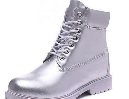 Best Quality Timber1and Boots 10061 Waterproof Work Boots All Silver Mens Womens Cow Leather Cowboy 6inch Footwear With Free Quick Express