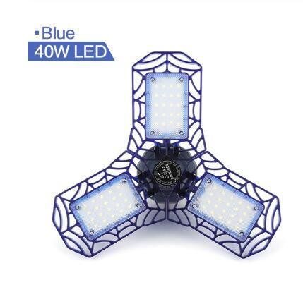 40 Вт 36 светодиодов синий корпус