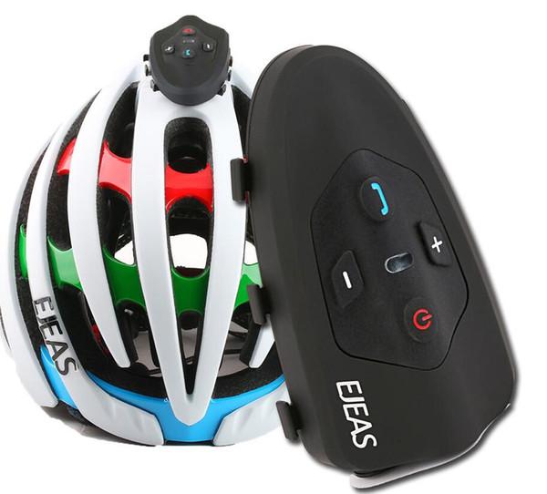 Outdoor Cycling Bicycle Walkie Talkie 2 People Bluetooth Walkie Talkie Eagle Eagle Music Phone Hard Hat Headphones