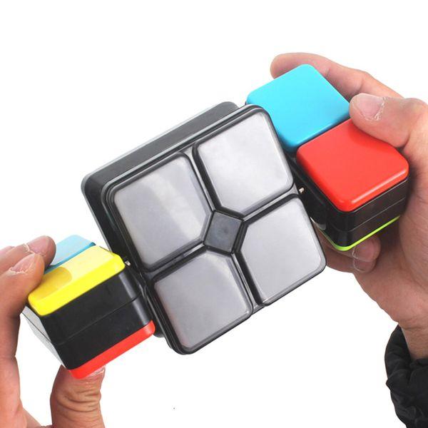 Musica antistress Cubi magici Puzzle infinito Giochi Giocattoli Regali Fidget Vibrazione Educazione Velocità Neo Decomprime Giocattoli Per Bambini Adulto