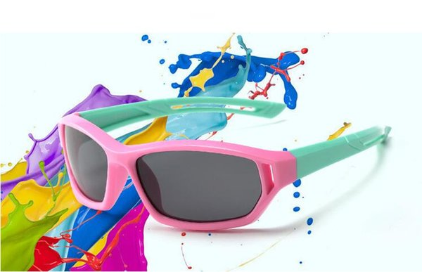 Manufacturers of ultra-low-cost wholesale 2019 new cycling children's solar polarizer children's sports silica gel sunglasses sunglasses sun