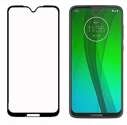 Borde curvo Seda Impreso Protector de pantalla de cristal templado de alta calidad para Motorola G7 Play G7 Power Google Piexl3 XL LG V40 negro cubierta completa