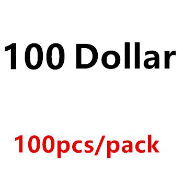100Dollar 100PCS