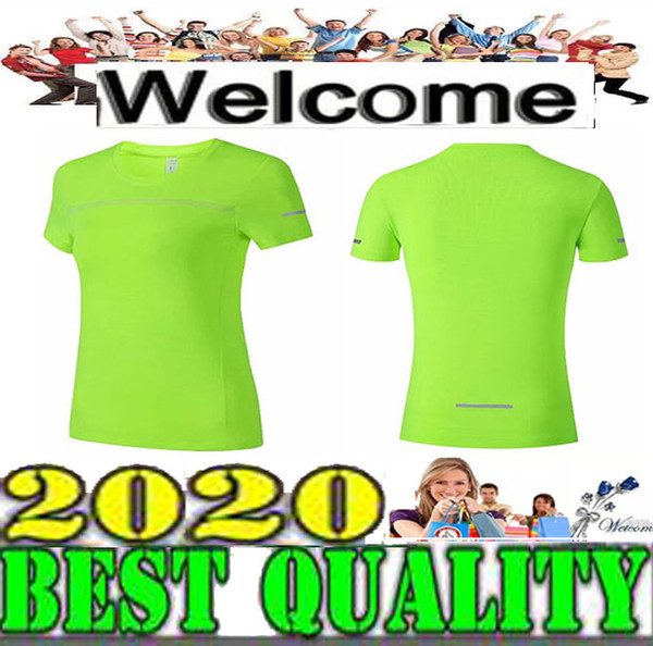 top popular 2019 2020 NEW Wholesale Women's Short Sleeve Black T-Shirt Workout Vest Exercise Clothes Running Jogging 3 Colors Size S-XL 2019