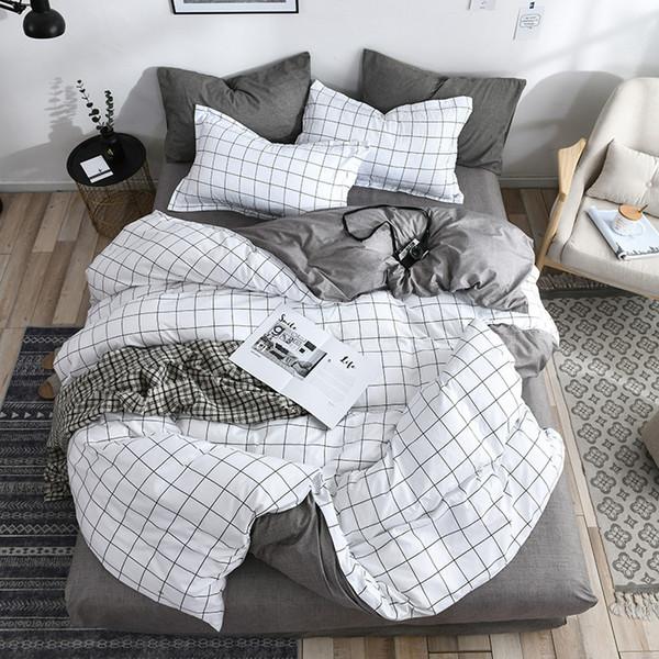 grid white grey