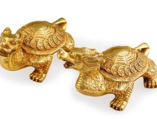 DYZ 830+++++++Pure copper tortoise, large size, eight diagrams, dragon turtle, home Fengshui furnishings