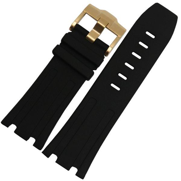 블랙 골드 버클 28mm