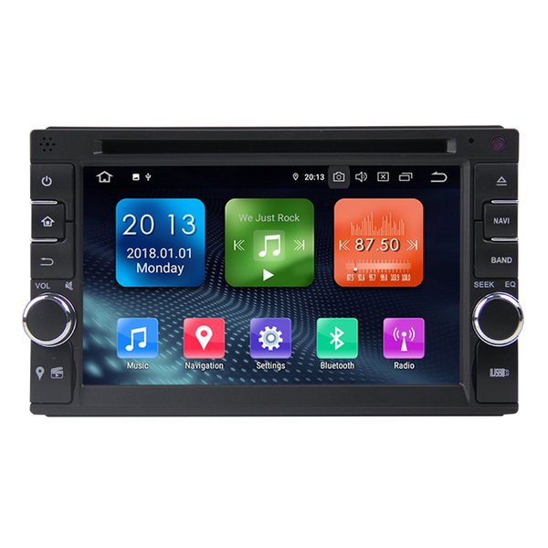 Zhuohan 6.2 Inch HD Android Car DVD Player for 2 DIN Universal with Bluetooth GPS(AD-L6546)