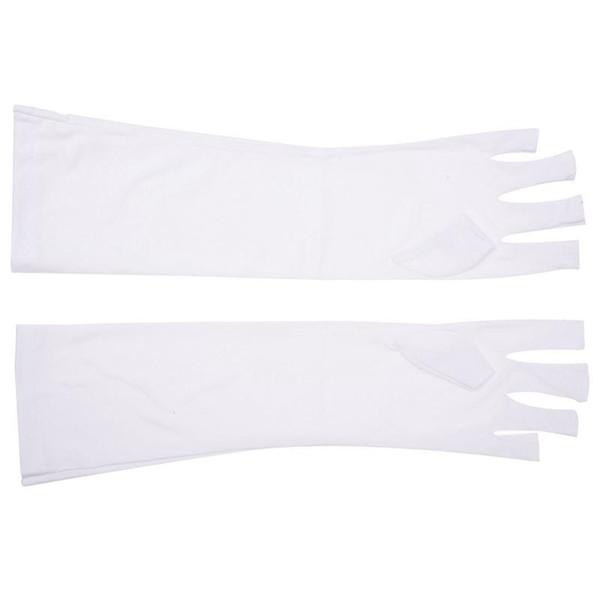 Paar Nail Art UV-Gel Anti-UV-Schutz Open-Toed Glove Beauty Cosmetic