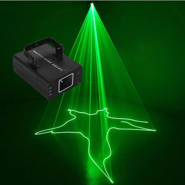 pro Einzelkopf einzelne grüne G 30 MW Laserlichtstrahl Motor Scanner Party Club Nachtclub Weihnachtsbeleuchtung