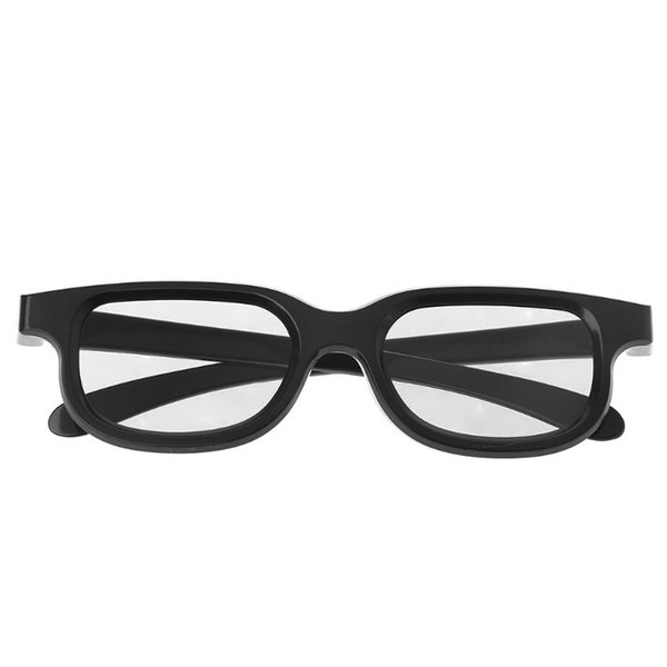 Circular Polarized Passive 3D Stereo Glasses Black For 3D TV Real D IMAX Cinemas Drop Shipping Support
