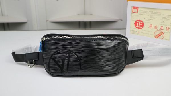 2019 Hot fashion retrò casual in pelle di alta qualità borsa single-shoulder bag Fanny pacchetto formato di consegna gratuita: 33 * 16 * 3 cm