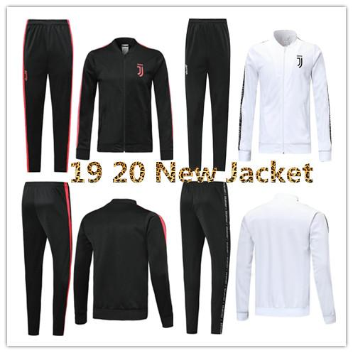 more photos f0c43 56b7e 19 20 New Juventus soccer jacket training suit 2019 2020 RONALDO DYBALA  jackets kit juve full zipper football jacket sweater tracksuit Sets