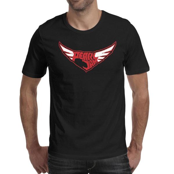 Pearl Jam bird Logo black t shirt,shirts,t shirts,tee shirts shirt design vintage superhero custom casual t shirt