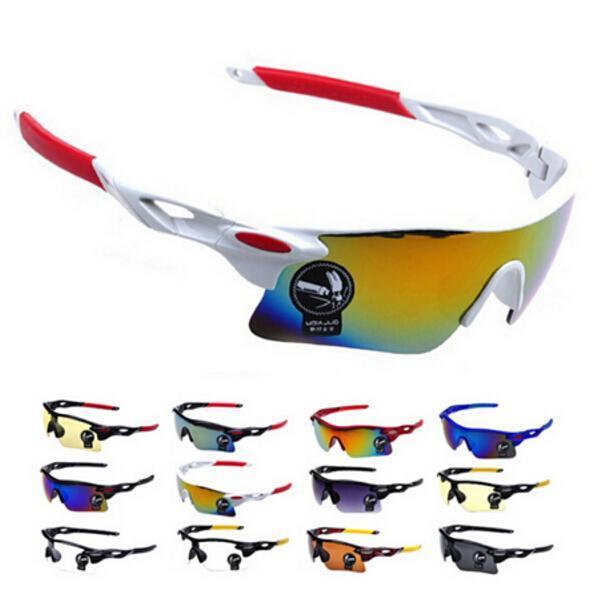Men Women Cycling Glasses UV400 Outdoor Sports Windproof Eyewear Mountain Bike Bicycle Motorcycle Glasses Sunglasses