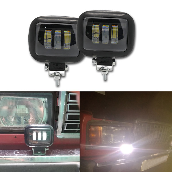 30W Universal LED Car Motorcycle LED Spotlights Parking Work Lamp For Jeep ATV SUV Moto 4X4 Led Offroad Light