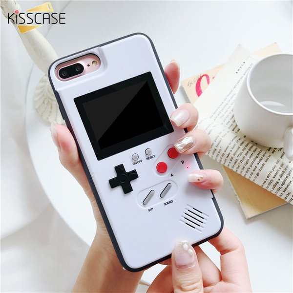 Kisscase Game Phone Case For Iphone 6 6s 7 8 Plus X Classic Game Case For Iphone X Xs Xr Xs Max Fundas Caphins For Daniel J190629