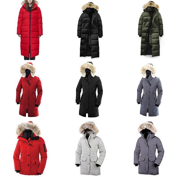 Women Winter Jacket Windbreaker Clothes Womens 2019 Luxury Designer Jackets Goose Down Jacket Bomber North Parka Coats Doudoune Femme Homme