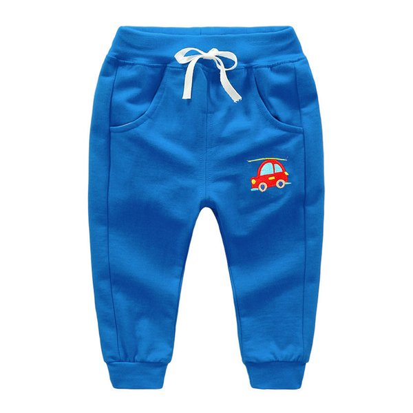 good quality 2019 boys spring autumn pants fashion brand cartoon casual pants for children clothes kids trousers bebe sport pants