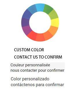 cor personalizada
