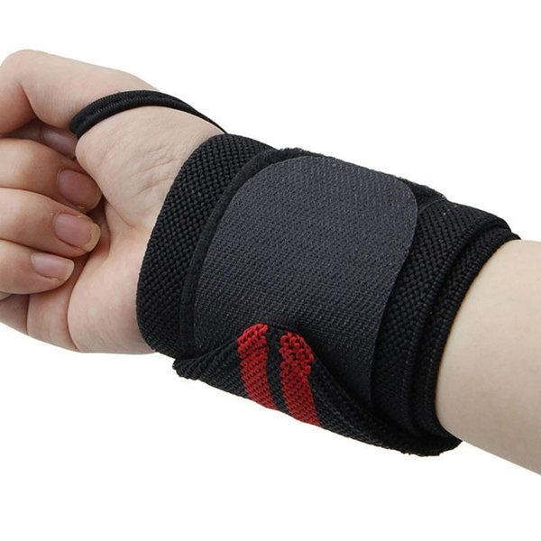 AOLIKES Weightlifting Wristband Sport Professional Training Hand Bands Wrist Support Straps Wraps Guards For Gym Fitness #282650