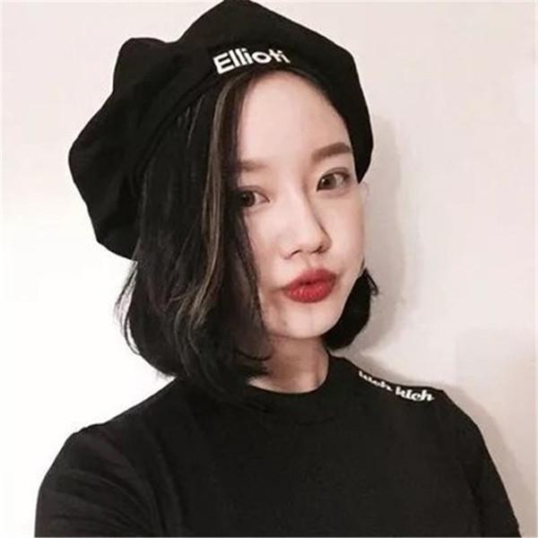 Fashion Women Spring Berets Autumn Woman Wool Beret Hats Princess Hat Caps Retro Caps Fashion Beanie Ellioh