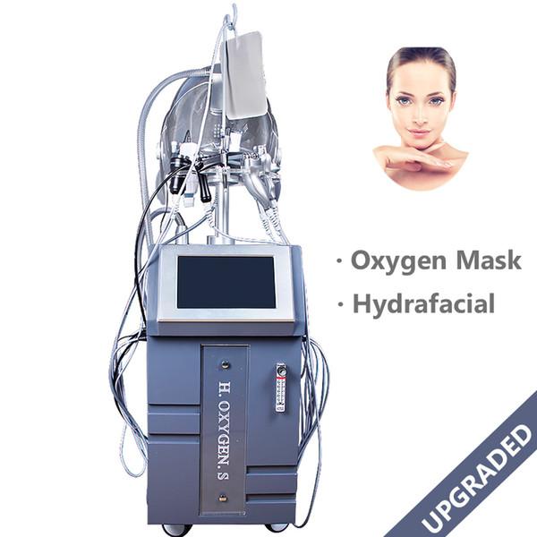 Spa Use Oxygen Spray Injection Facial Beauty Machine O2 Oxygen Skin Jet Peeling Skin Rejuvenation Machine For Pigment Removal Acne Treatment