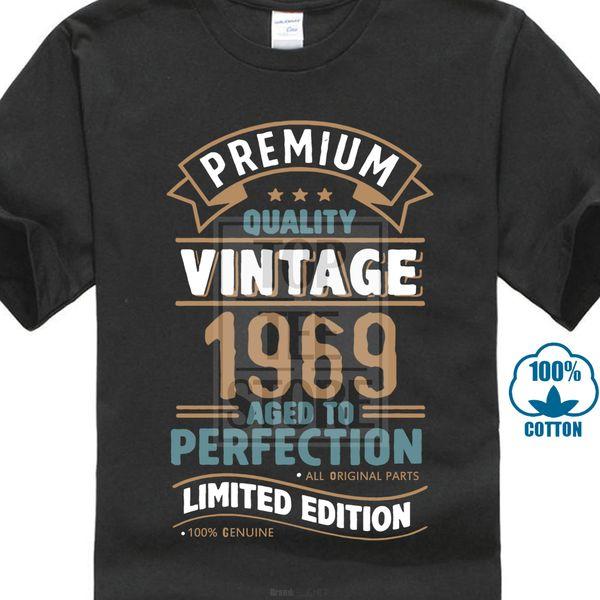 Jahrgang 1969 Limited Edition 49. Geburtstag Mens Funny T Shirt 49 Jahre alt