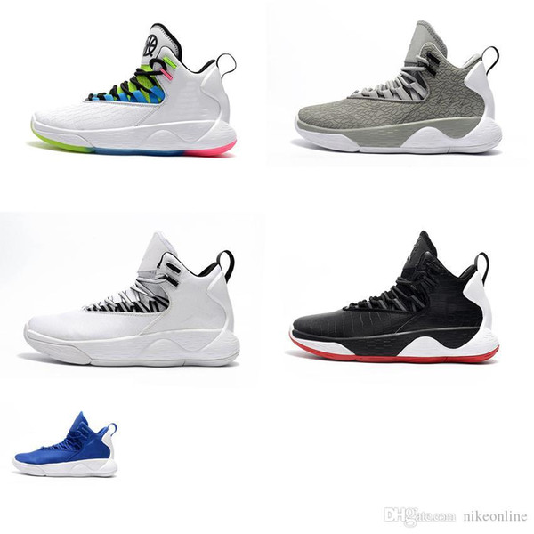 Дешевые новые мужские jumpman супер fly mvp баскетбол обувь Quai 54 белый черный прохладный серый красный змеиная кожа воздуха полеты кроссовки сапоги теннис для продажи