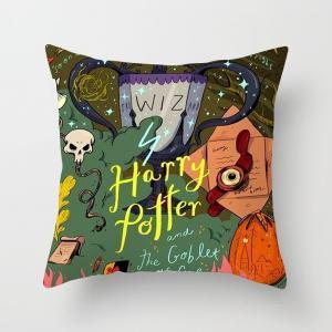 Harry Potter pillow cover the Goblet of Fire Hug Pillowcase Sofa Office Waist Cushion covers Home Car Pillow case 45*45cm GGA1574
