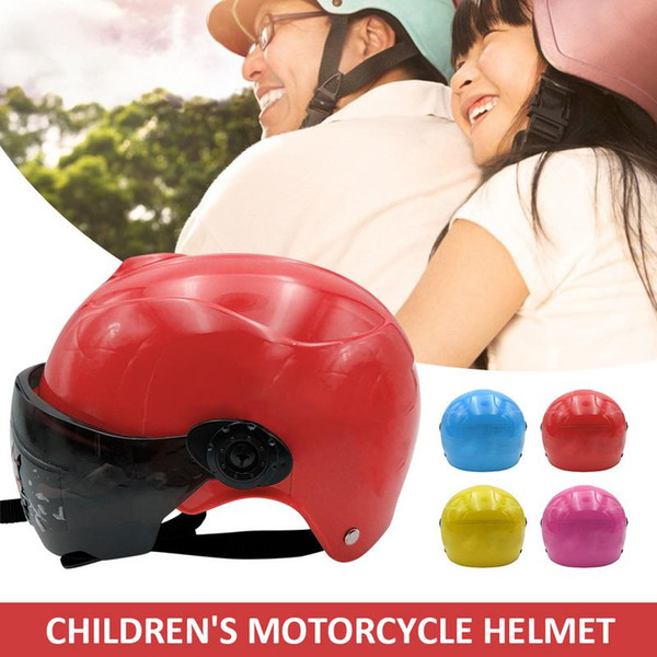 2019 New Safety Helmet For Kids Bike Kids Baby Helmets Safe Full Face Children Muffler Cartoon Pattern Durable