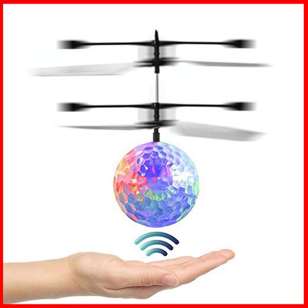Mini Drohne Infrarot Sensor UFO Fliegen Spielzeug Induktion Flugzeuge Spielzeug