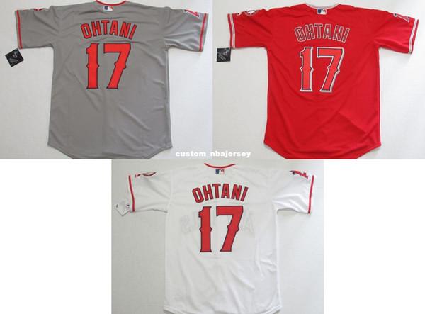 Cheap Custom Shohei Ohtani #17 Cool Base Mens jerseys Home/Road Stitched Retro Mens jerseys Customize any name number baseball jersey XS-5XL