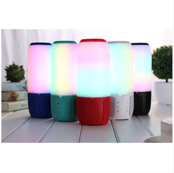 Factory Wholesale 30pcs/box Bluetooth Speakers With LED TF Card and Charger Wireless Speaker ship Within 24hour