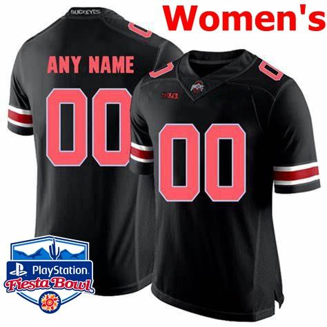 Womens Black Red Com Fiesta Bowl