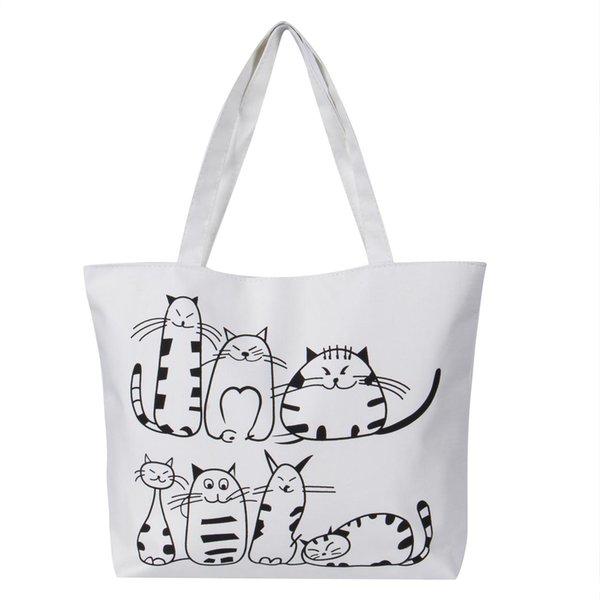 Frauen Hobo Canvas Schultertasche Messenger Handtasche Satchel Tote Shopping Handtasche mit großer Speicherkapazität