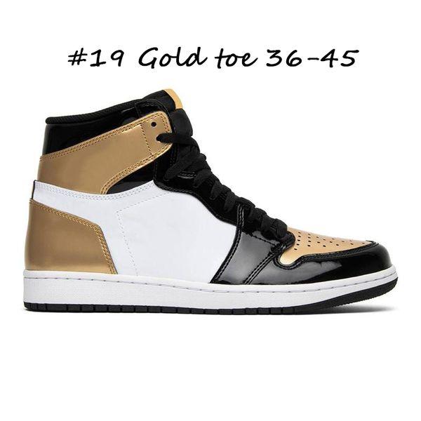 #19 Gold toe 36-45