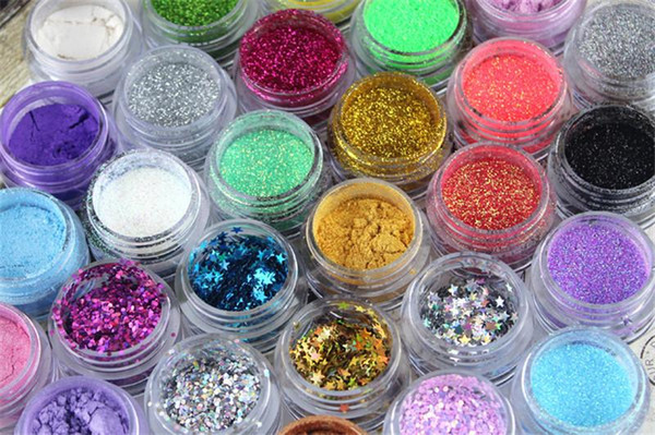 36 Colors Glitter Eyeshadow Eye Shadow Makeup Shiny Loose Glitter Powder Eyeshadow Cosmetic Make Up Pigment