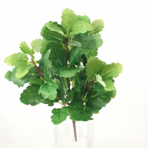 """Decorations Artificial Plants one Fake Mint Leaf Bunch Artificial Greenery Plant 11.81\"""" for Wedding Party Home Decorative Greenery Flor..."""