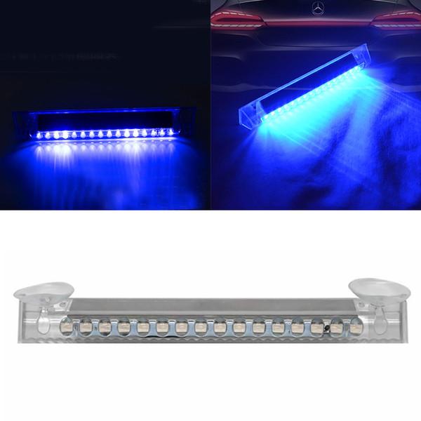 Универсальный предупреждающего свет 16 светодиодов мигающие Easy Install Strobe Truck Emergency Прочный ABS сигнал тревоги автомобиля Поставки солнечной энергии
