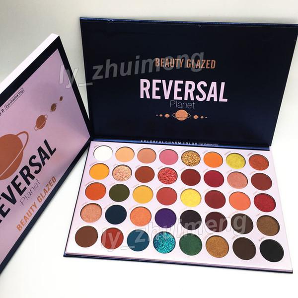 ZD Brand 3 Pcs Newest Eyeshadow Palette Glamorous Smokey