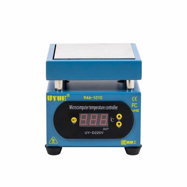 best selling 400W 100X100mm Constant Preheating Station LCD Display Temperature Control Heat Platform for SMD PCB Phone Screen Repair Machine