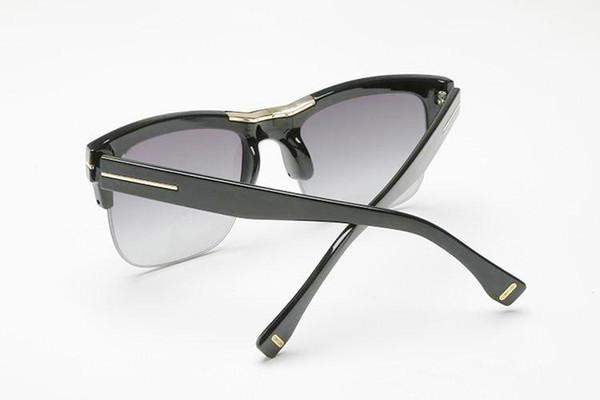Vente en gros- top qualtiy nouvelle mode TF16 Tom lunettes de soleil pour homme femme Erika Eyewear ford Designer lunettes de soleil avec boîte d'origine @ 589