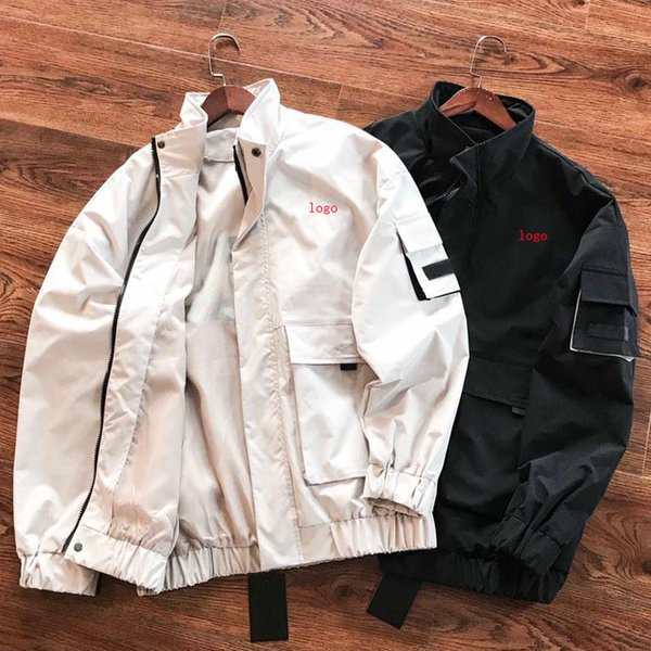 2019 New Arrival Mens Womens Brand Jackets Fashion Couples Casual Jacket Men Women Cool Letter Unisex Jackets Size M-2XL