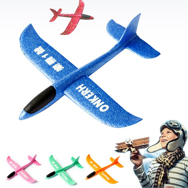 Glider Toy Planes Flying Model Gliders Foam Airplane Aircraft Toys For Children Games Outdoor Fun Sports