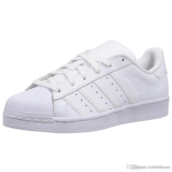 new concept e69a3 4b607 Classic Superstar Original White Hologram Iridescent Junior Gold Superstars  Sneakers Originals Super Star Women Men Sport Running Shoes 68 . Most ...