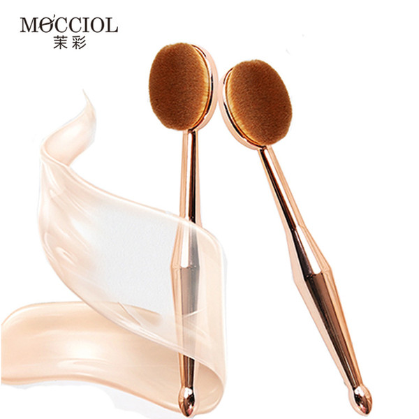 OutTop Makeup Brushes 1PC Make Up Brushes Toothbrush The New Mermaid Makeup Brush Oval Foundation Brush